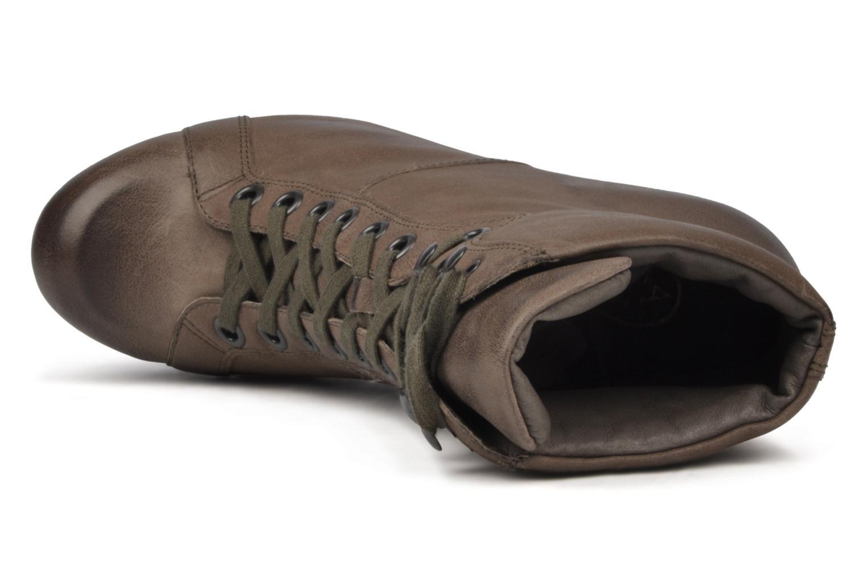 Bottines et boots Ash Patty Marron vue gauche