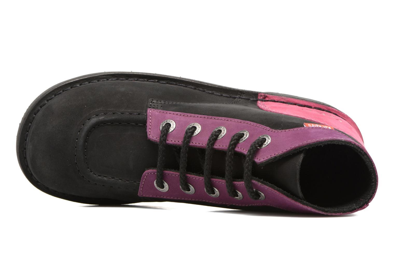 Kick color perm Noir Violet Fuchsia