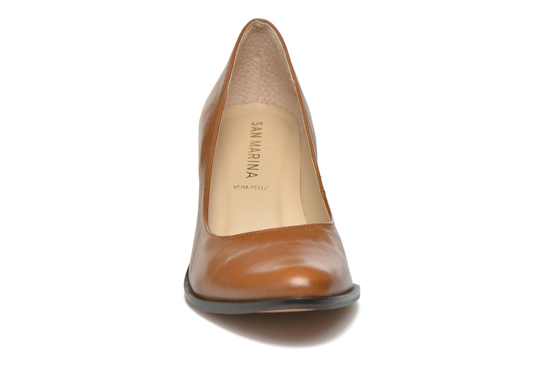 Escarpins San Marina Mardara Marron vue portées chaussures