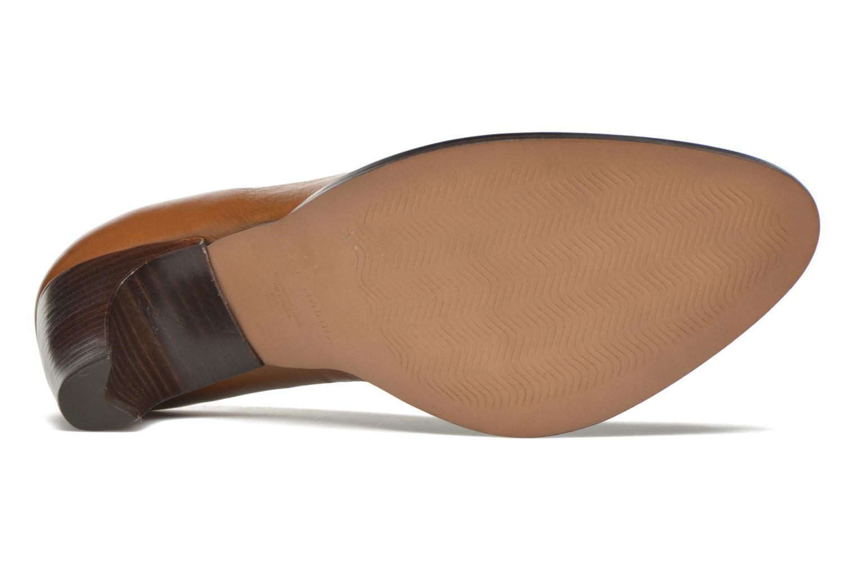 Zapatos de tacón San Marina Mardara Marrón vista de arriba