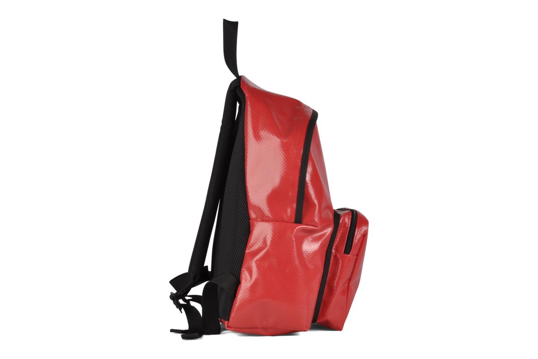 Zaini Manhattan Portage Big Apple Backpack MD Rosso immagine destra