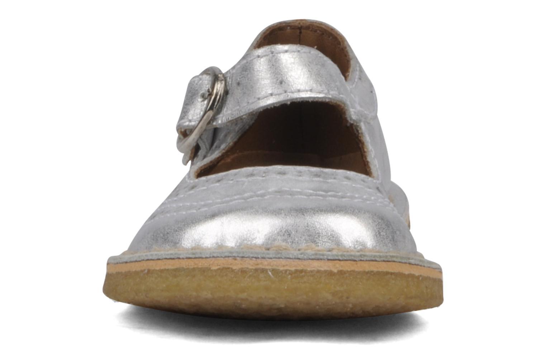Ballerines Bisgaard Eddie Argent vue portées chaussures