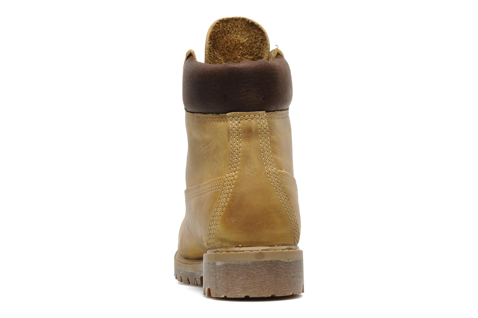 Bottines et boots Timberland 6in premium boot Beige vue droite