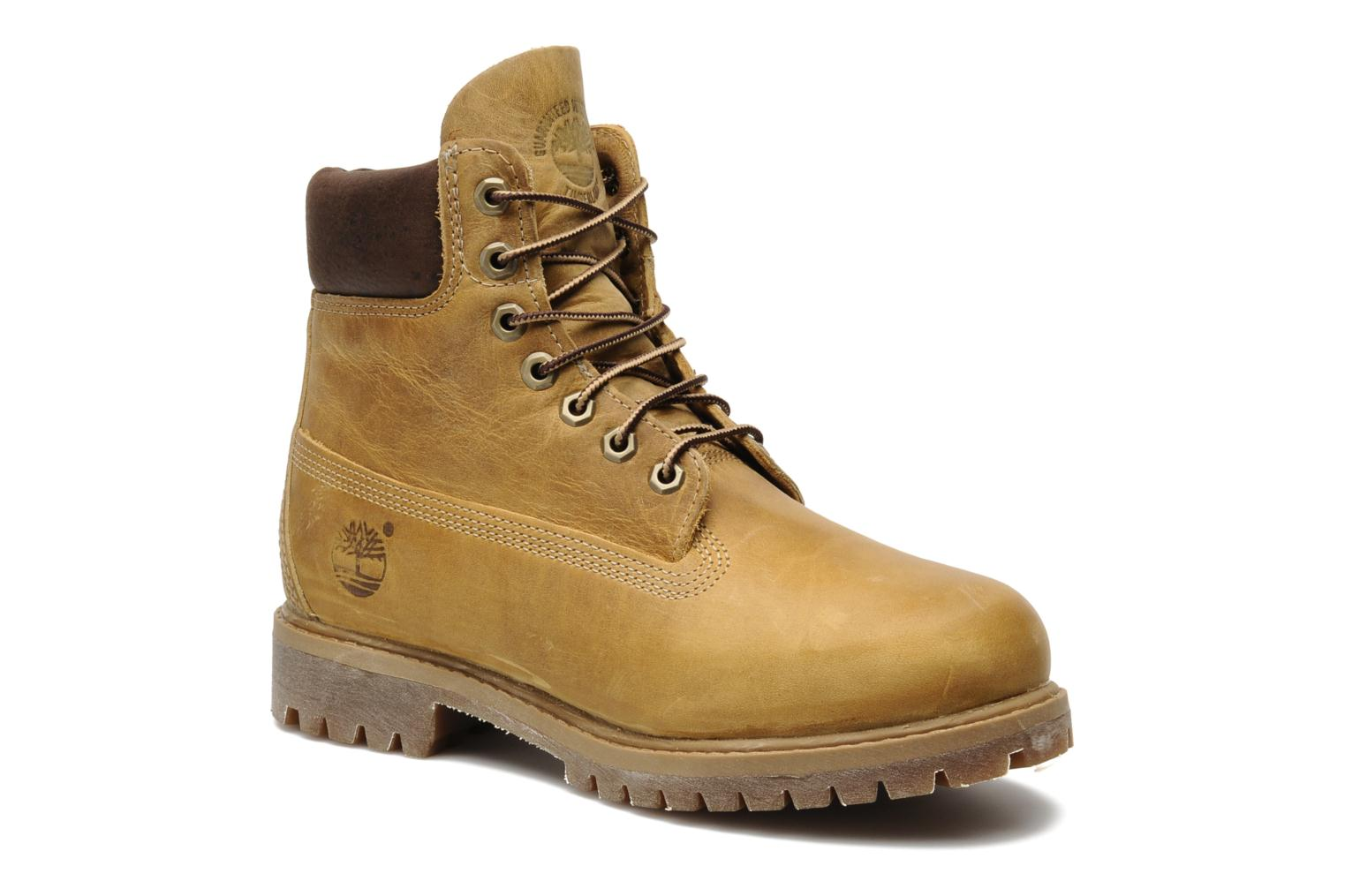 6in premium boot Wheat Burnished Full Grain