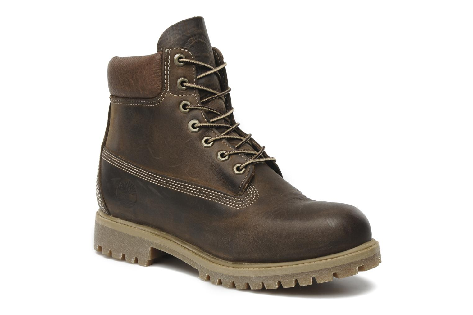 6 inch premium boot Brown Burnished Full Grain