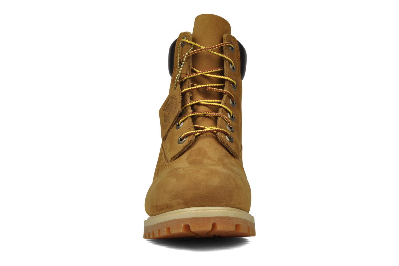 6 inch premium boot Rust Nubuck