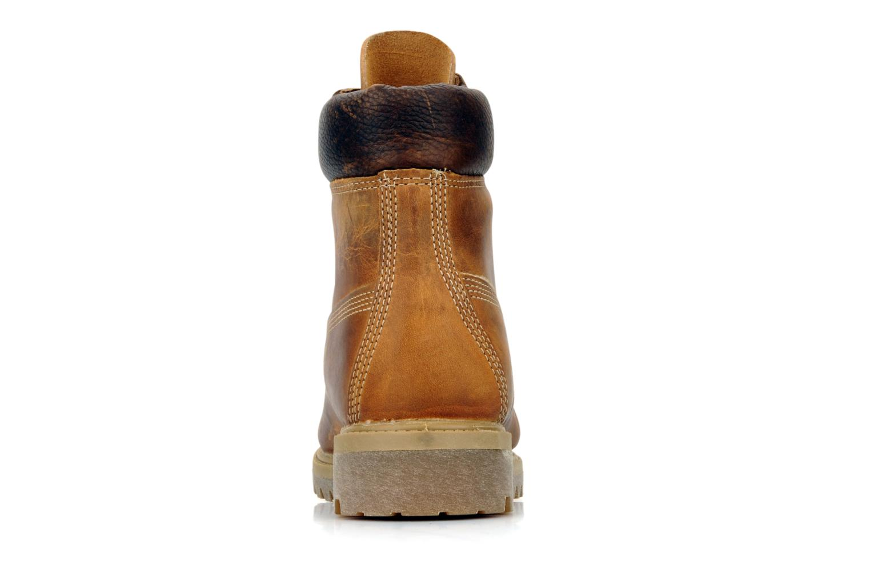 6in premium boot Burnt orange worn oiled