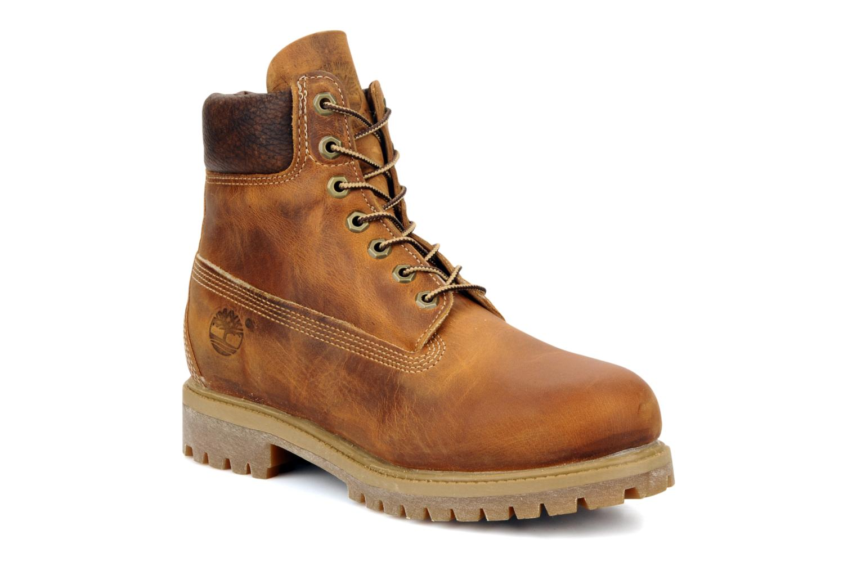 Bottines et boots Timberland 6in premium boot Marron vue détail/paire