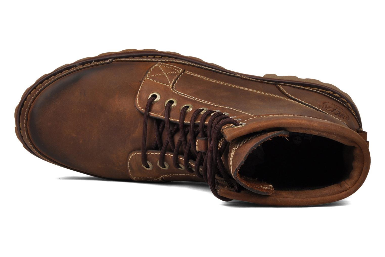 Boots en enkellaarsjes Timberland Earthkeepers Burn Bruin links