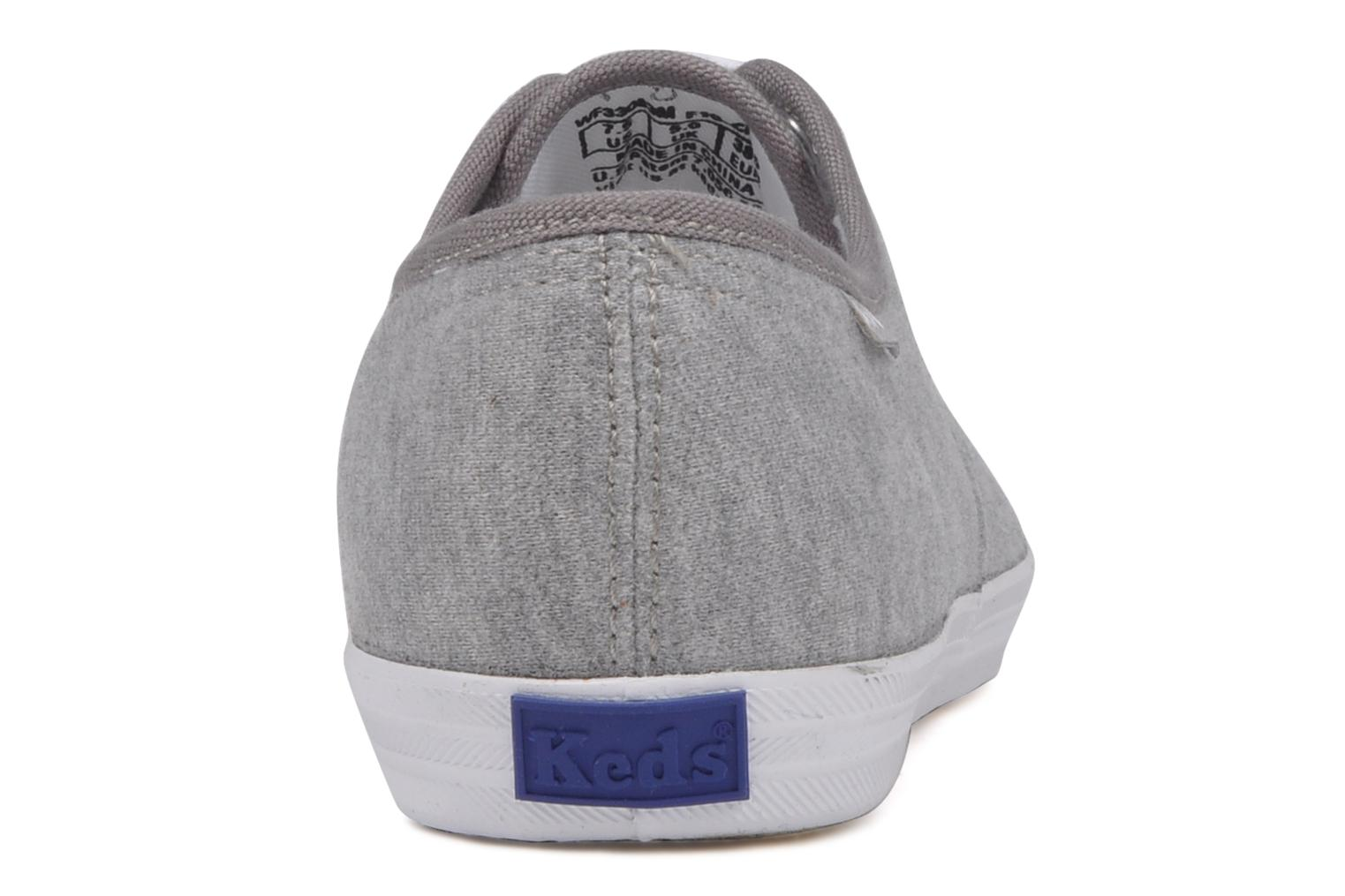 Trainers Keds Champion jersey Grey view from the right