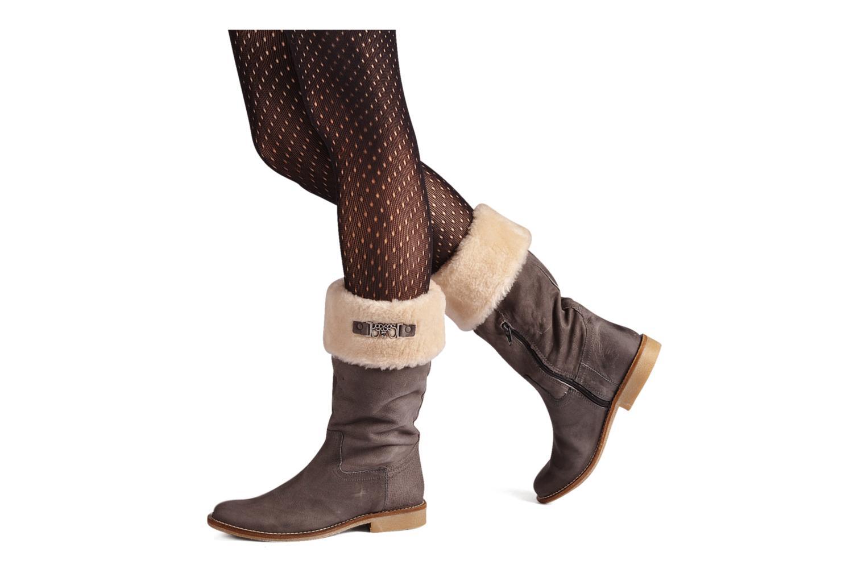 Stiefeletten & Boots Le temps des cerises Forea grau ansicht von unten / tasche getragen