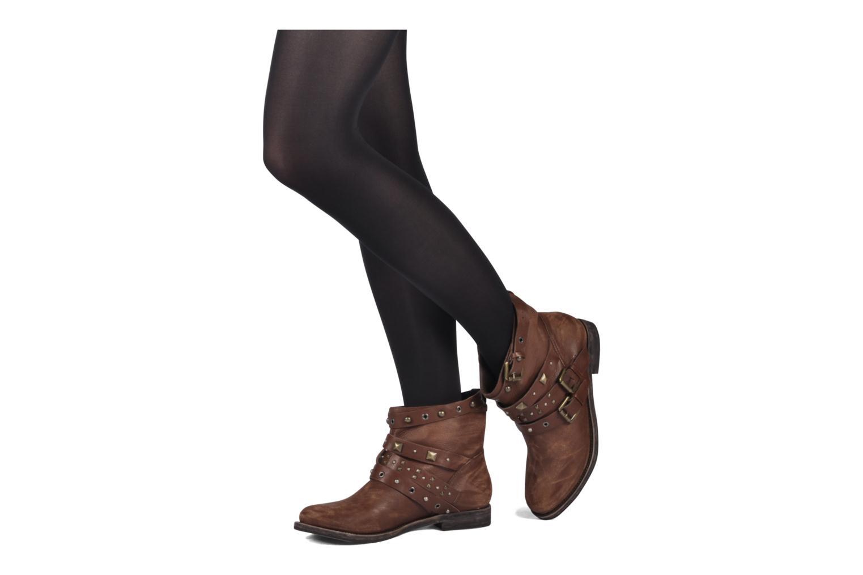 Bottines et boots Studio TMLS Teresina Marron vue bas / vue portée sac