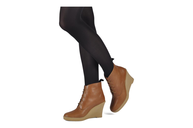 Bottines et boots Mellow Yellow Ibizenca Marron vue bas / vue portée sac