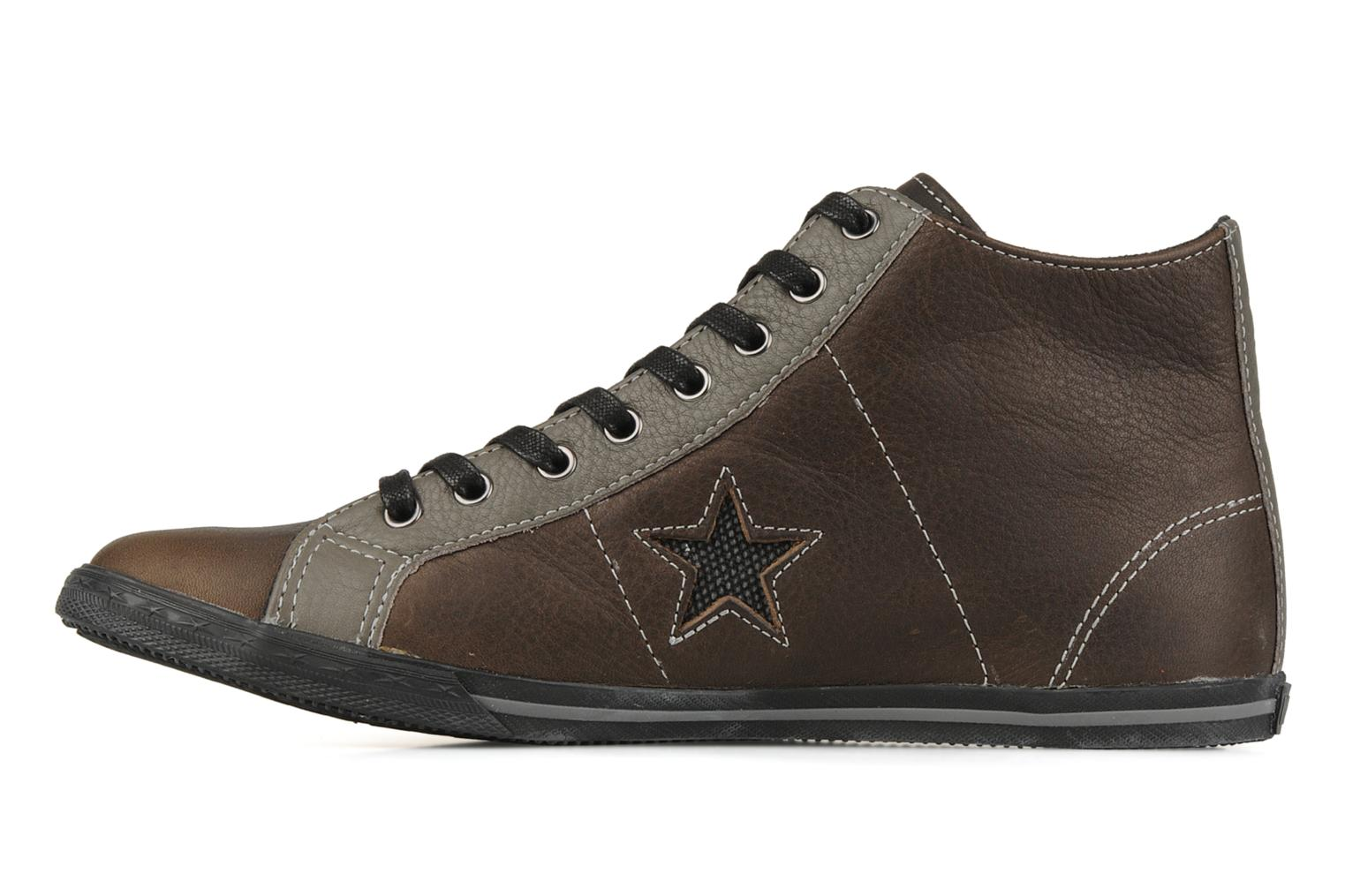 Baskets Converse One star low profile mid m Gris vue face