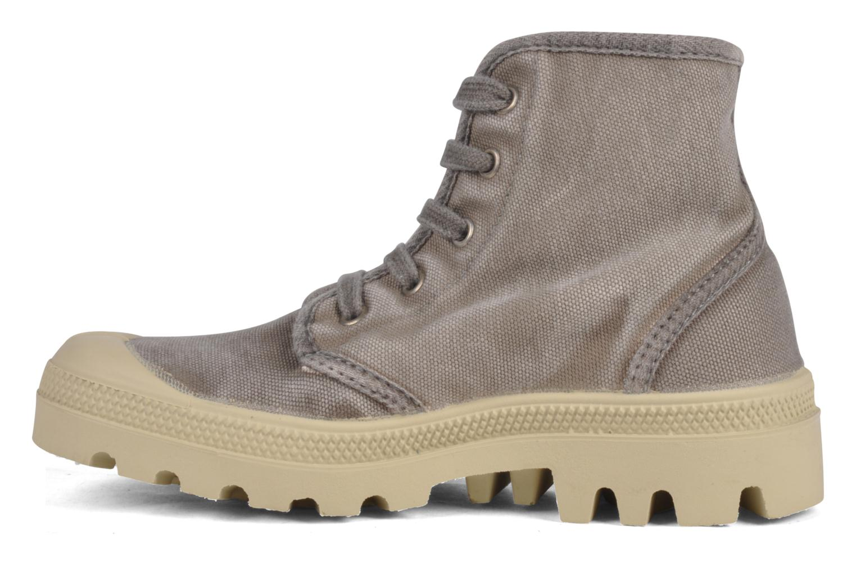 Sneakers Palladium Pampa high vnt 14466 Grigio immagine frontale