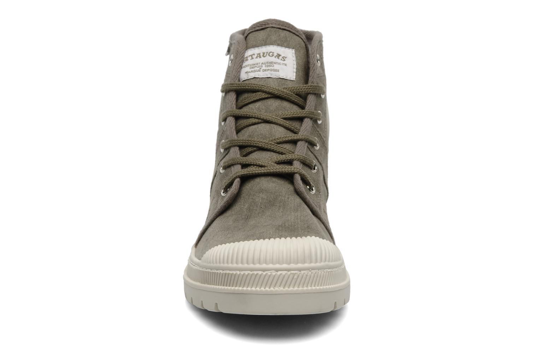 Bottines et boots Pataugas Authentique M Vert vue portées chaussures
