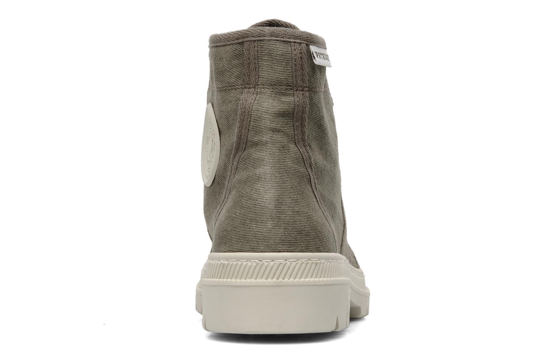 Bottines et boots Pataugas Authentique M Vert vue droite