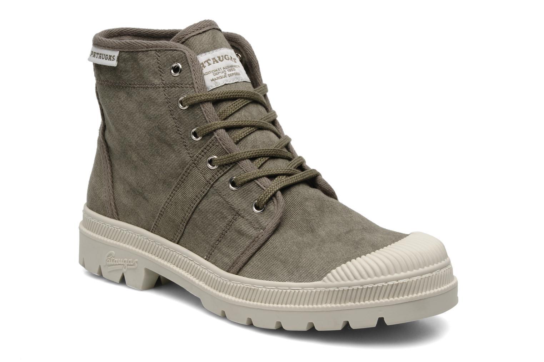 Bottines et boots Pataugas Authentique M Vert vue détail/paire