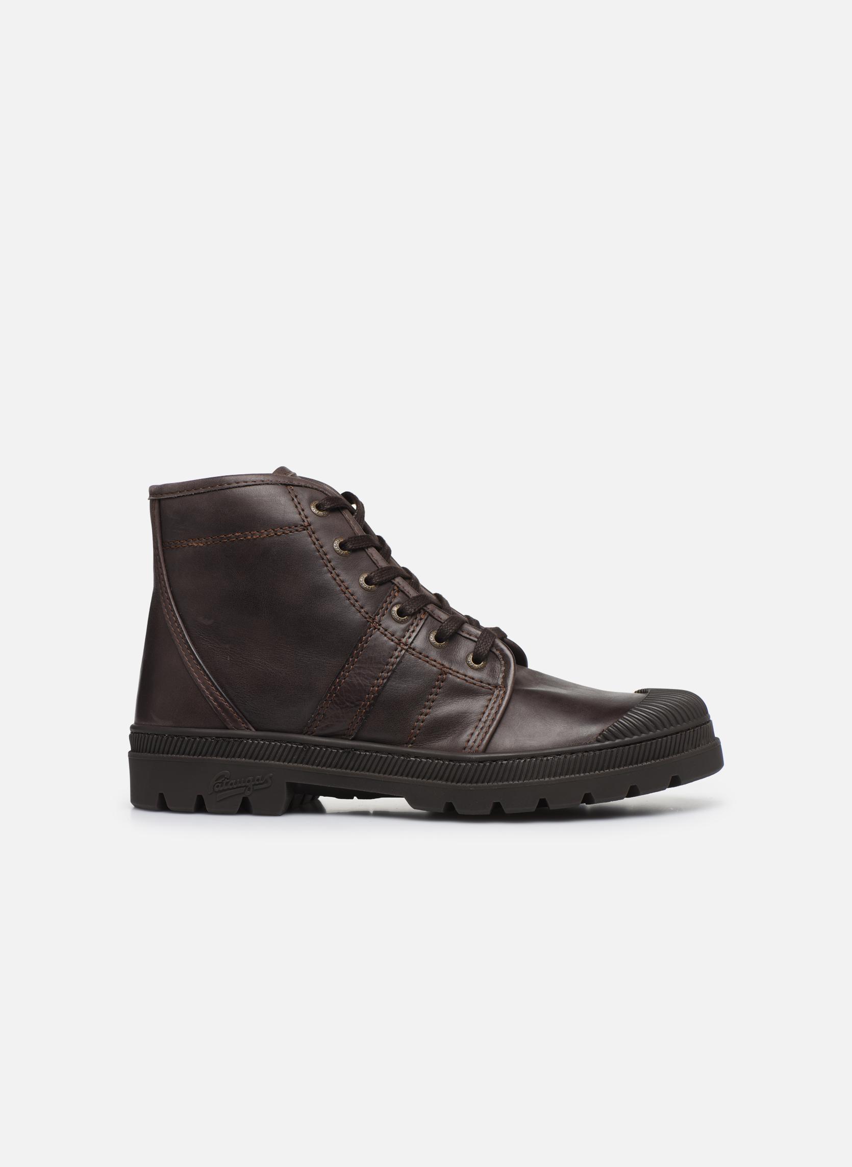 Bottines et boots Pataugas Authentique M Marron vue derrière