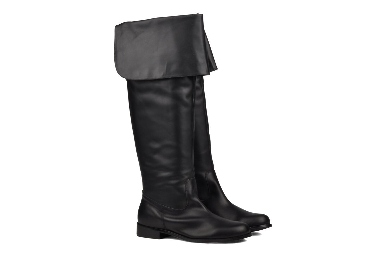 Boots & wellies Georgia Rose Mousqui Black 3/4 view