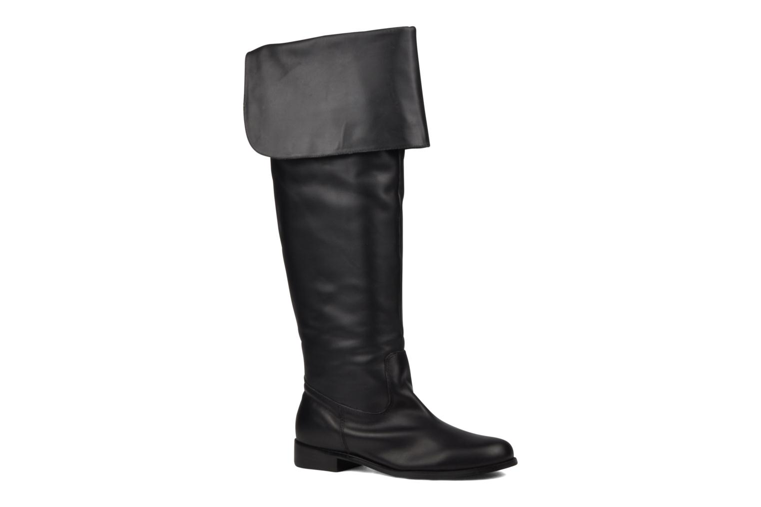 Boots & wellies Georgia Rose Mousqui Black detailed view/ Pair view