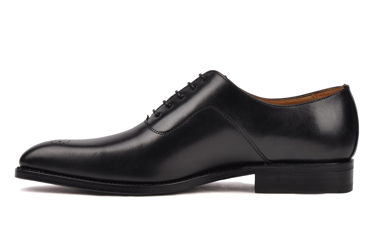 Lace-up shoes Finsbury Harlow Black front view