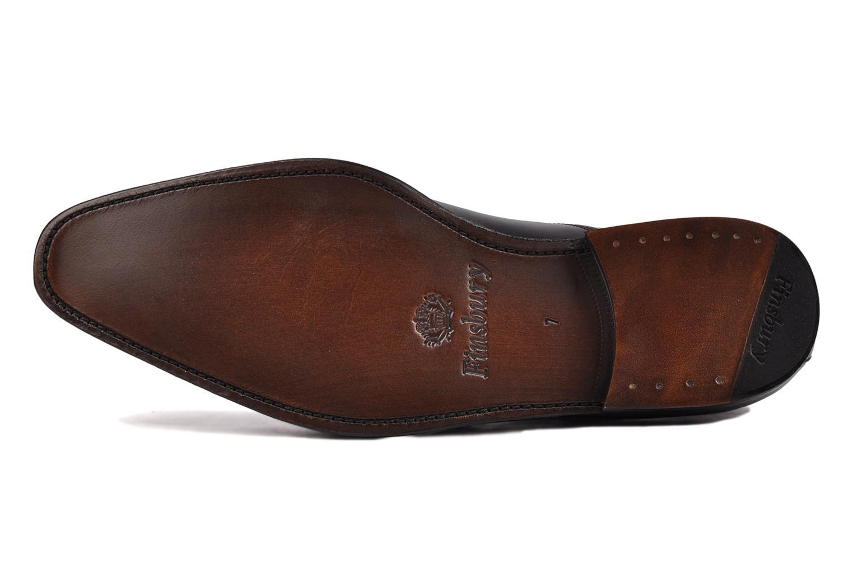 Chaussures à lacets Finsbury Harlow Noir vue haut