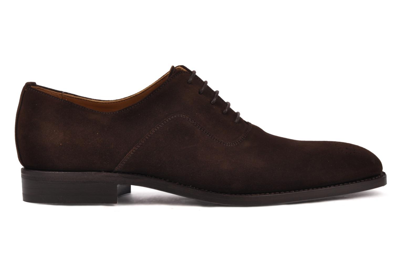 Chaussures à lacets Finsbury Harlow Marron vue derrière