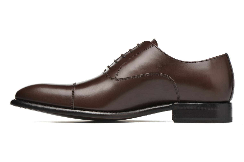 Chaussures à lacets Finsbury Consul Marron vue face