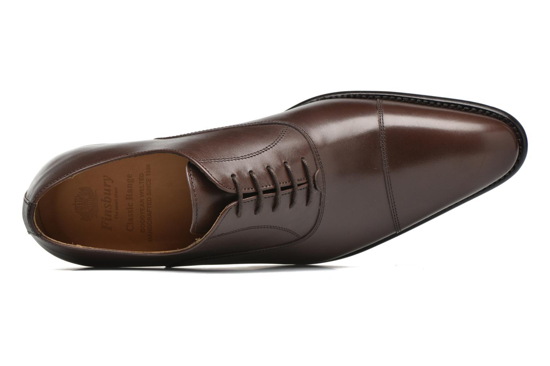 Chaussures à lacets Finsbury Consul Marron vue gauche