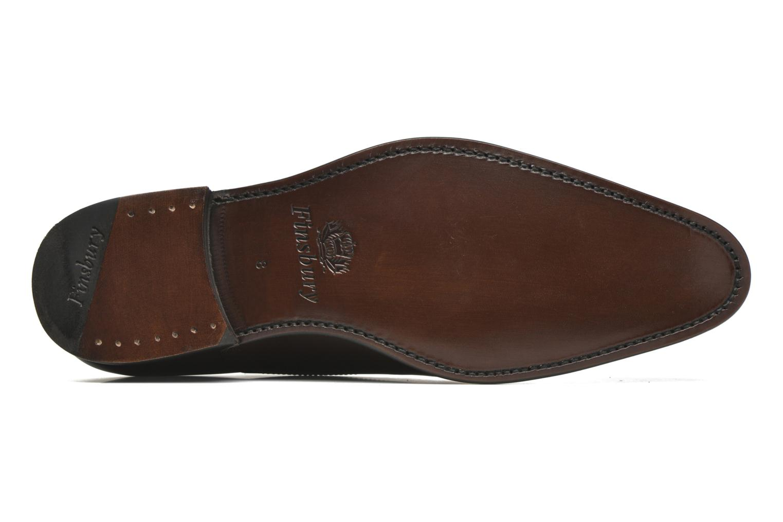 Chaussures à lacets Finsbury Consul Marron vue haut