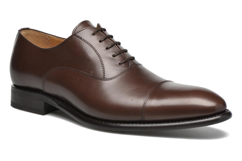 Chaussures à lacets Finsbury Consul Marron vue détail/paire