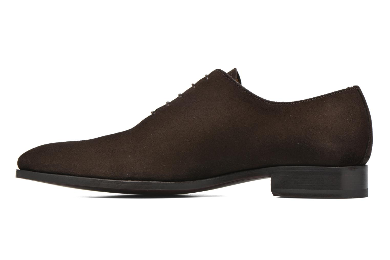 Chaussures à lacets Finsbury Broadway Marron vue face