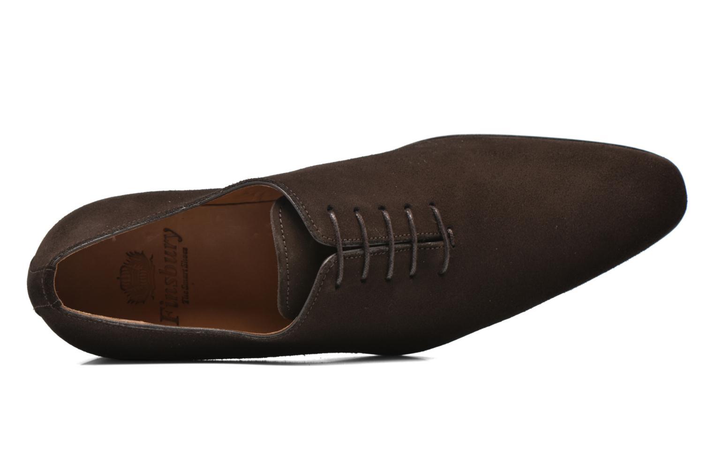 Chaussures à lacets Finsbury Broadway Marron vue gauche
