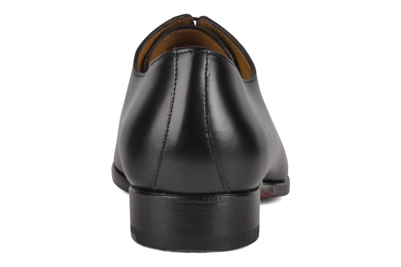 Chaussures à lacets Finsbury Broadway Noir vue droite