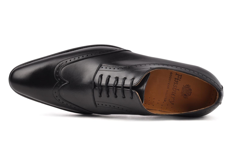 Chaussures à lacets Finsbury Belair Noir vue gauche