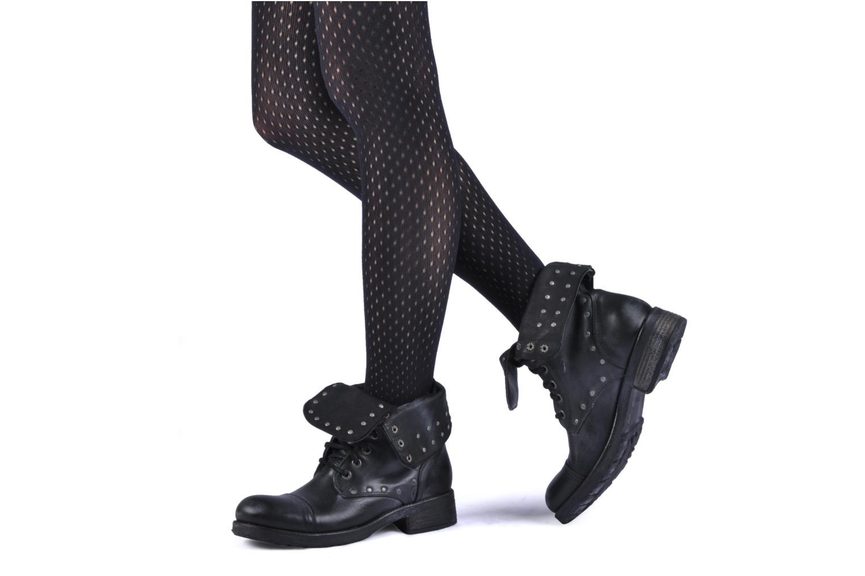 Bottines et boots Koah Karina Noir vue bas / vue portée sac