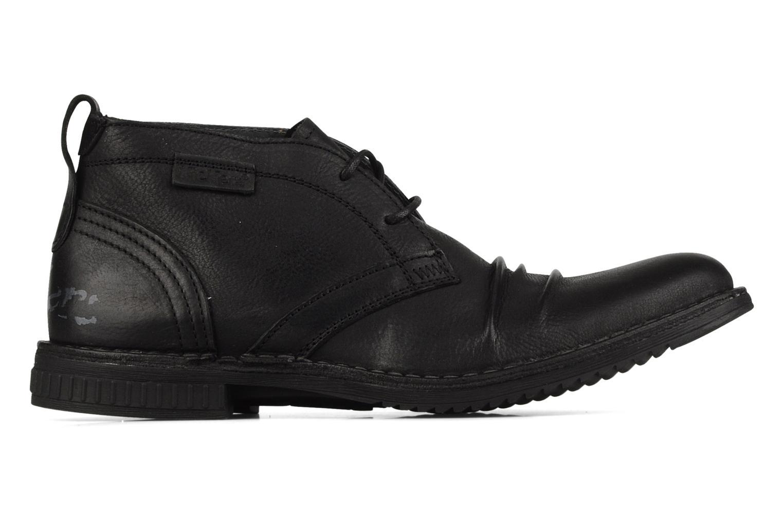 Chaussures à lacets Kickers Jecho Noir vue derrière