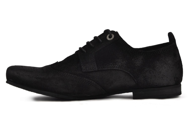 Chaussures à lacets Kickers Koncept Noir vue face