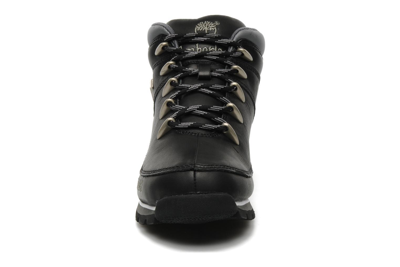 Snörade skor Timberland Euro Sprint Svart bild av skorna på