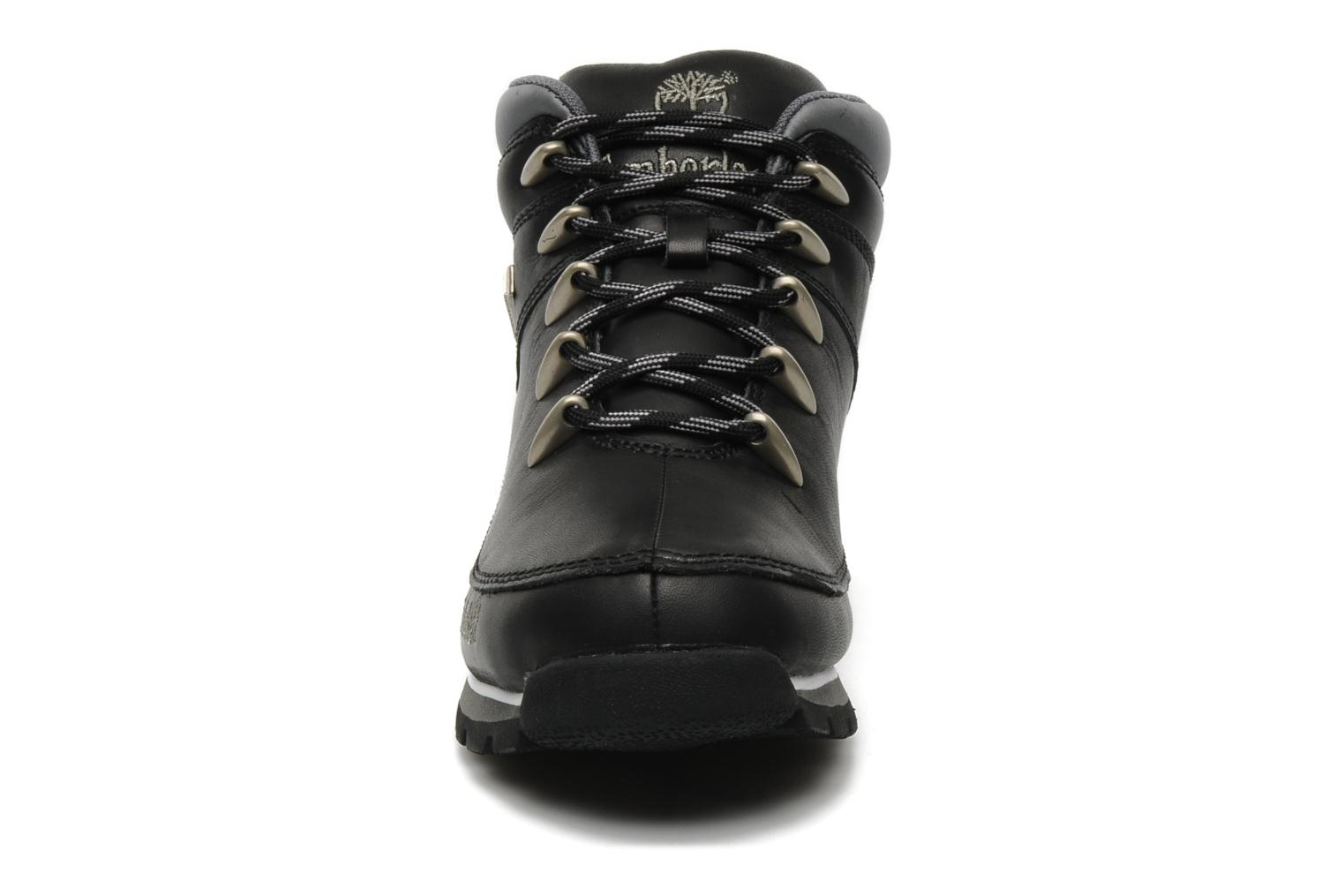Lace-up shoes Timberland Euro Sprint Black model view