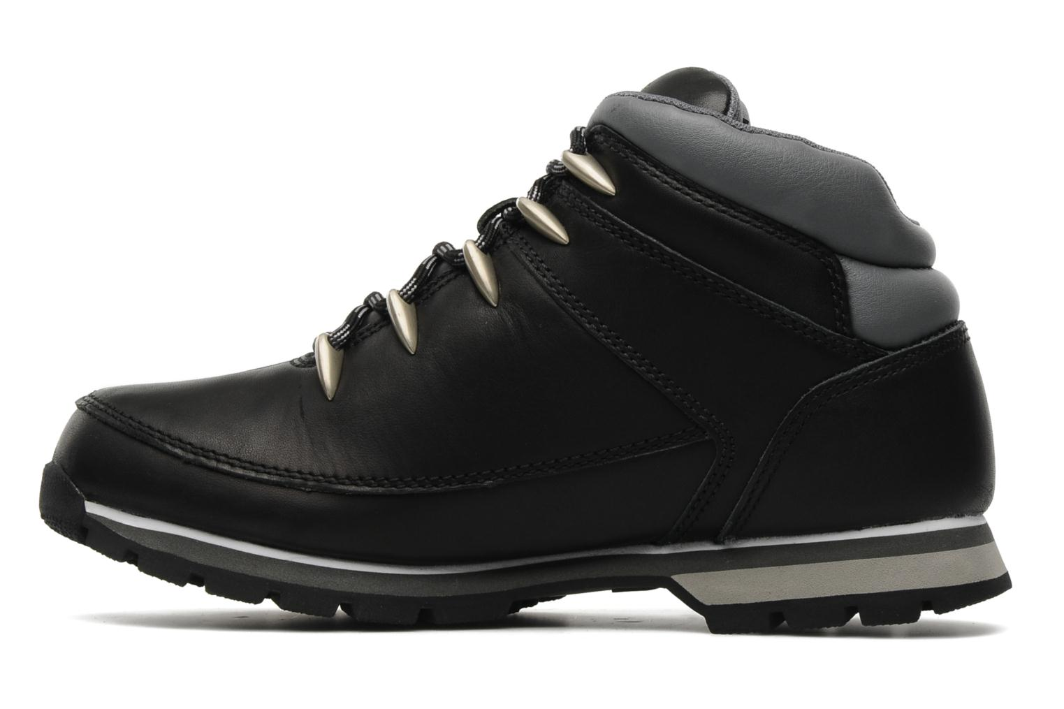 Lace-up shoes Timberland Euro Sprint Black front view