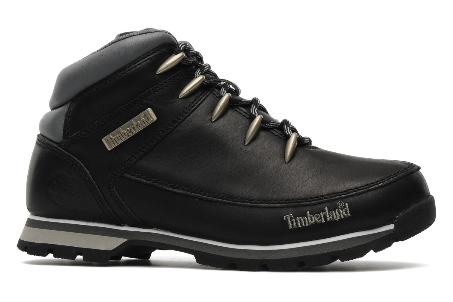 Lace-up shoes Timberland Euro Sprint Black back view