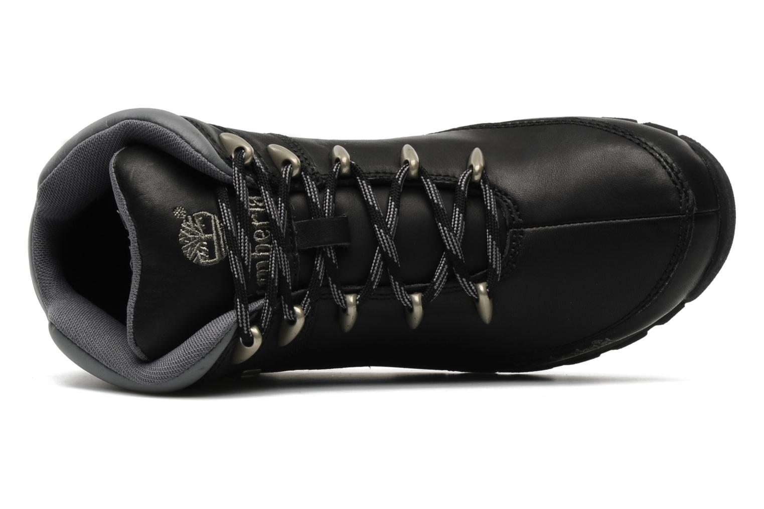 Lace-up shoes Timberland Euro Sprint Black view from the left