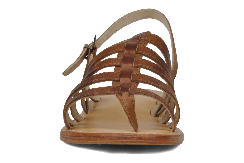 Sandalen Les Tropéziennes par M Belarbi Heriber braun schuhe getragen