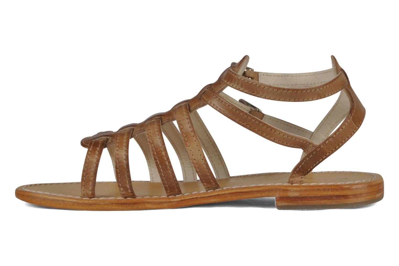 Sandali e scarpe aperte Les Tropéziennes par M Belarbi Hicare Beige immagine frontale