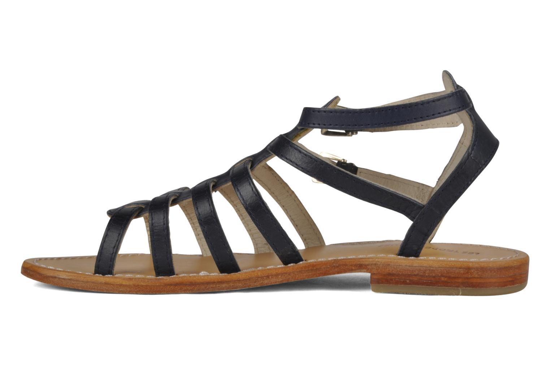 Sandales et nu-pieds Les Tropéziennes par M Belarbi Hicare Bleu vue face