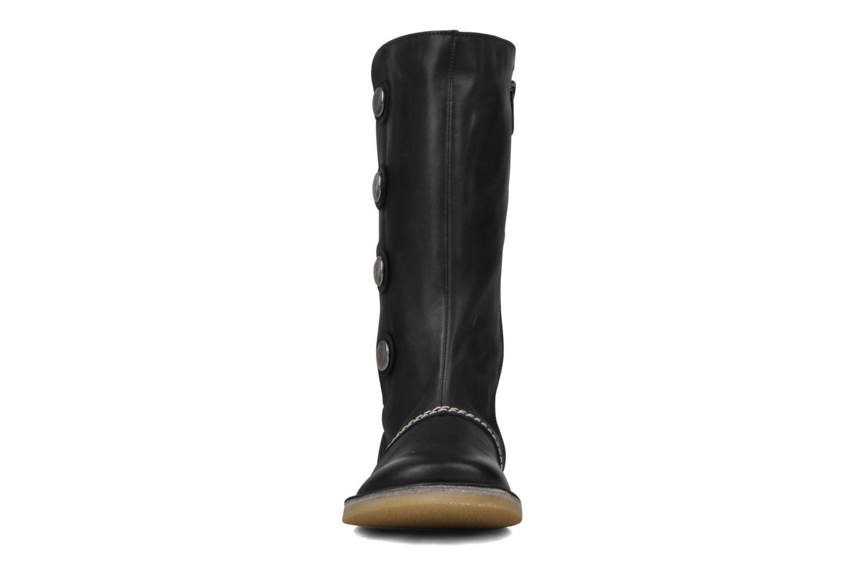 Bottes Kickers Ikonic Noir vue portées chaussures