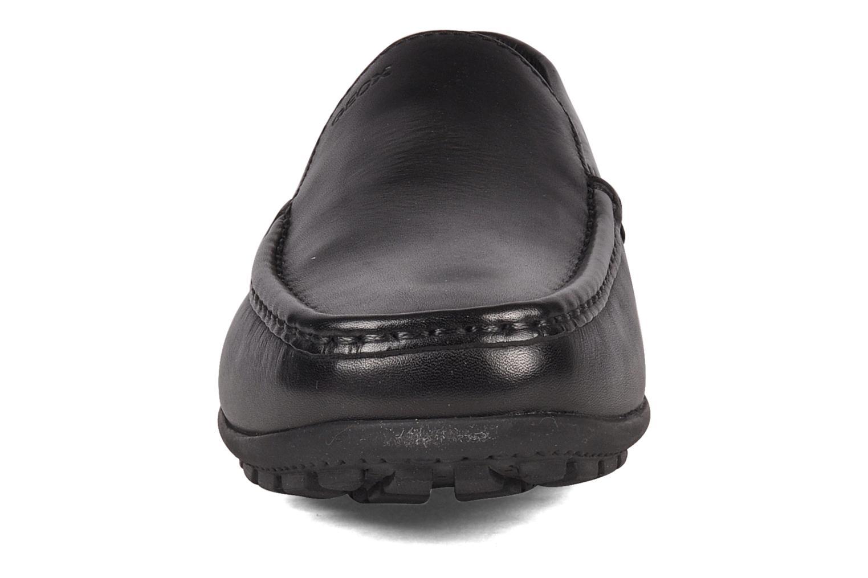 Slipper Geox U MONET W 2FIT B U44Q6B schwarz schuhe getragen