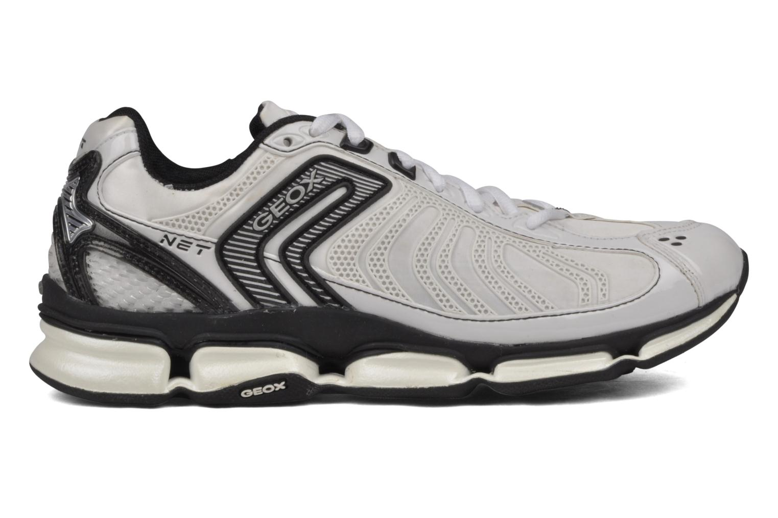 Sport shoes Geox D alpha b White back view